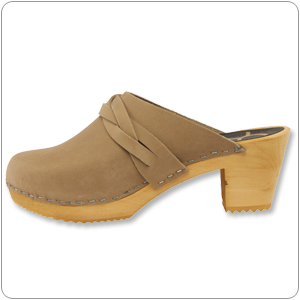 Dala Mocha Clog By Cape Clogs