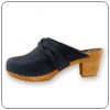 Dala Navy Clog By Cape Clogs