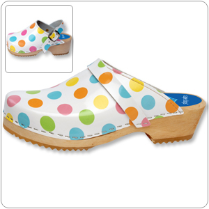 Dots Clog By Cape Clogs