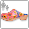 Flower Power Clog By Cape Clog
