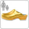 Gold Clog By Cape Clog