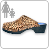 Leopard Clog By Cape Clogs