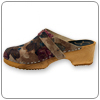Rosette Clog By Cape Clogs