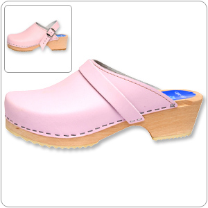 Solid Pink Clog By Cape Clogs