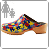 Autism Clog by Cape Clogs