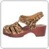 Barn Leopard Sandal By Cape Clog