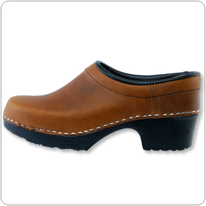 Bavarian Brown Clog by Cape Cl