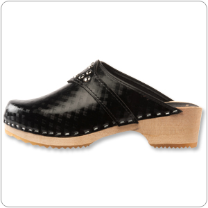 Black Vegan Clog By Cape Clog