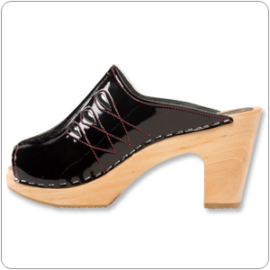 Black Chanel by Cape Clogs