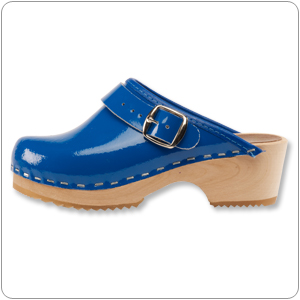 Cobalt Blue Clog by Cape Clogs