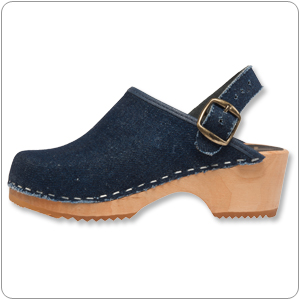 Denim kids Clog by Cape Cl