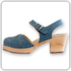 Jeans Clog By Cape Clog