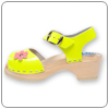 Lemonade Patent Yellow Clog By Cape Clog