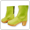 Lime Boot by Cape Clogs