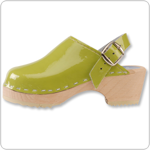 Lime Green Clog By Cape Clog