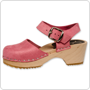 Mary Jane Pink Clog By Cape Clog