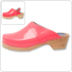 Neon Pink Clog By Cape Clog