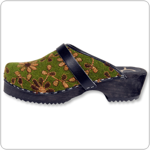 Olive Clog By Cape Clogs