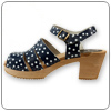 Pippi Navy Clog by Cape Clogs