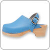 Powder Blue Clog By Cape Clog