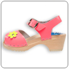 Punch Pink Clog By Cape Clog