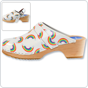 Rainbows Clog By Cape Clogs