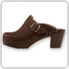 Dala Saddleback Clog By Cape Clogs