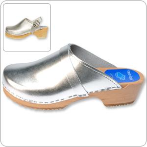 Silver Clog By Cape Clog