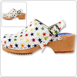 Stars Clog By Cape Clogs
